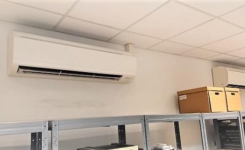 Klimatyzacja serwerowni Warszawa Praga. Montaż klimatyzaji w serwerowwni Głównego Inspektoratu Sanitarnego