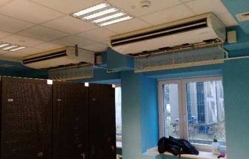 Klimatyzacja serwerowni Warszawa. Montaż klimatyzacji w serwerowni Wojskowej Akademii Technicznej