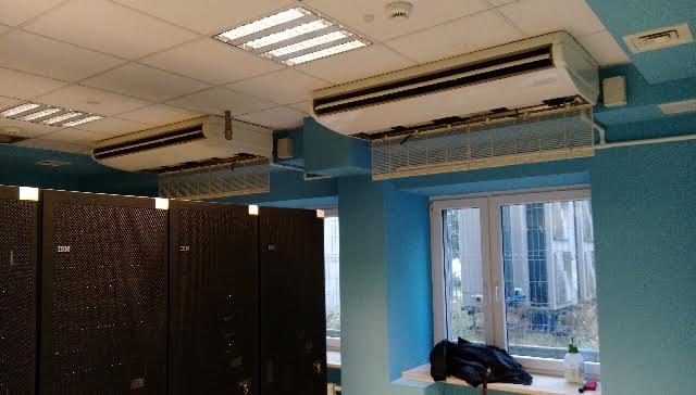Klimatyzcja serwerowni Warszawa